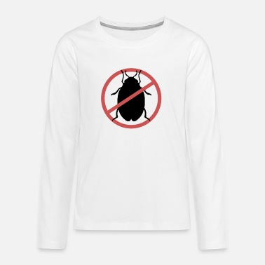 Travel Bug No Bed Bugs | Bed bugs banned bed bug travel - Teenage Premium Longsleeve Shirt