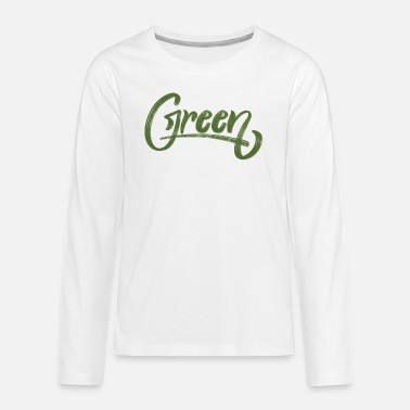 Green green - Teenage Premium Longsleeve Shirt