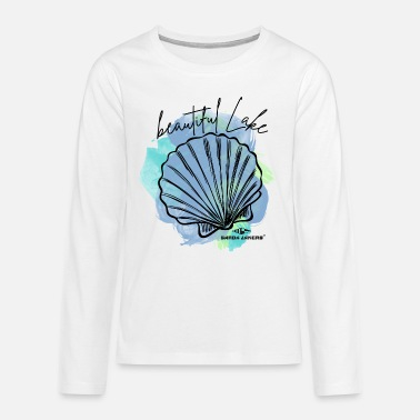 Garda Lakers Beautiful Lake - Teenage Premium Longsleeve Shirt