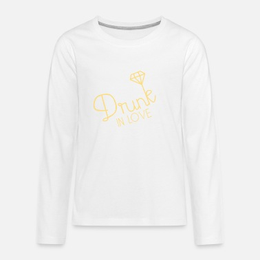 drunk in love - Teenage Premium Longsleeve Shirt