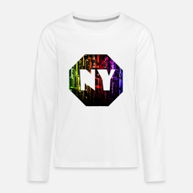 Ny NY - Teenage Premium Longsleeve Shirt