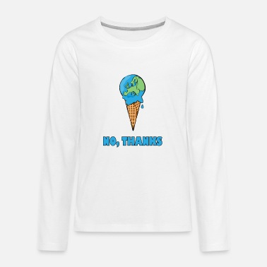 Fridays For Future Climate Change Climate Change Demo - Teenage Premium Longsleeve Shirt