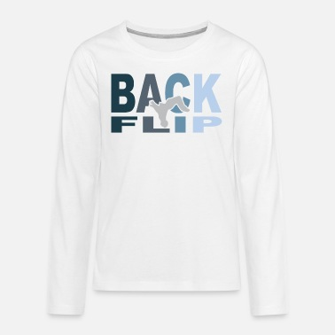 Backflip Backflip - Premium langærmet T-shirt teenager