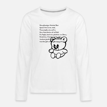 Teddy - Teenage Premium Longsleeve Shirt