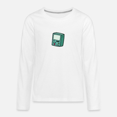Game Gaming gambling video game - Teenage Premium Longsleeve Shirt