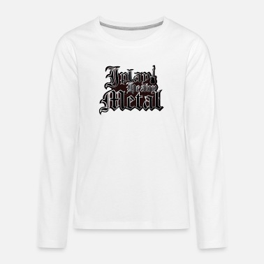 Heavy Heavy Metal - Premium langærmet T-shirt teenager