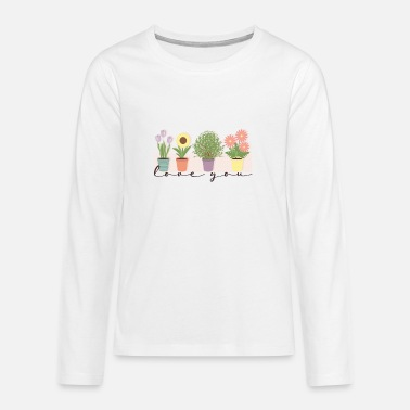 Houseplant houseplants - Teenage Premium Longsleeve Shirt