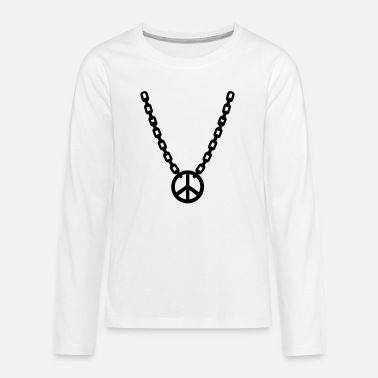 Necklace Necklace - Teenage Premium Longsleeve Shirt