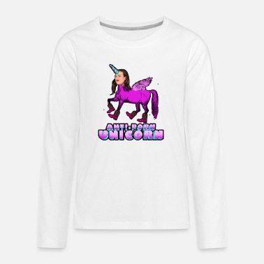 Unicorn Miranda Sings - T-shirt manches longues premium Ado