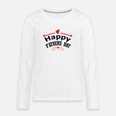 Fathers Day Fathers day - Teenage Premium Longsleeve Shirt