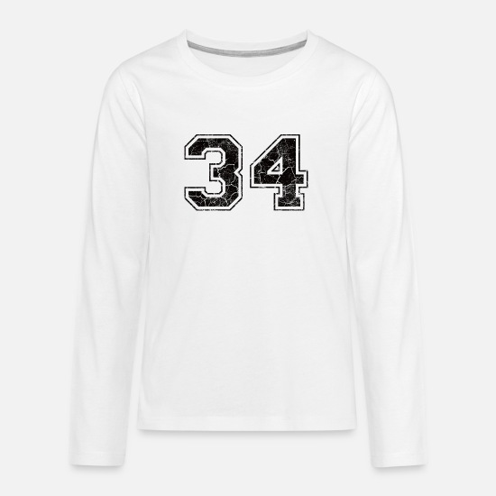 Birthday Long sleeve shirts - 36, 1936, number, number, birthday, number, year, - Teenage Premium Longsleeve Shirt white