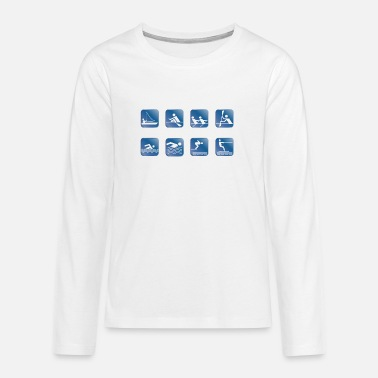 Watersport Watersport 1 - Teenager premium longsleeve