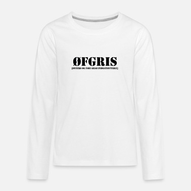 Collection For Kids ØFGRIS - Kids Collection - Teenage Premium Longsleeve Shirt