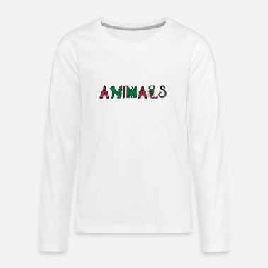 Animal Animals - Animals - Teenage Premium Longsleeve Shirt
