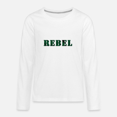 Green Rebel REBEL ARMY - Teenage Premium Longsleeve Shirt