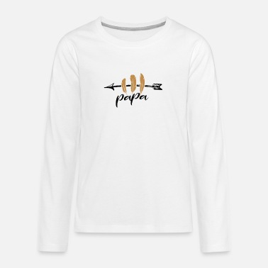 For Dad dad dad poison - Teenage Premium Longsleeve Shirt