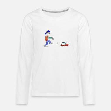 Guys Night Out My toaster - Teenage Premium Longsleeve Shirt