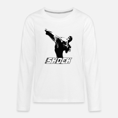Shock SHOCK KICK - Teenage Premium Longsleeve Shirt