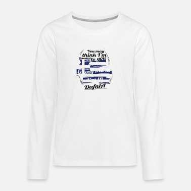 Greece GREECE GREECE TRAVEL IN IN Greece DafniA - Teenage Premium Longsleeve Shirt