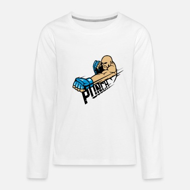 Punch Punch - Premium langærmet T-shirt teenager