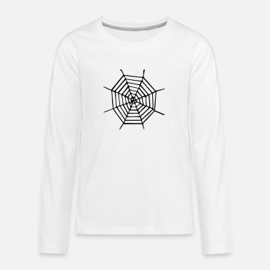 Spinneweb - Spider - Spider - Insect - Horror - - Teenager premium longsleeve