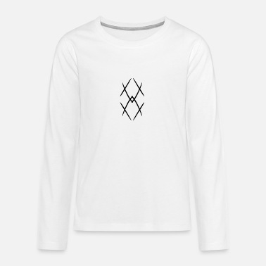 Tribal tribal - Premium langærmet T-shirt teenager