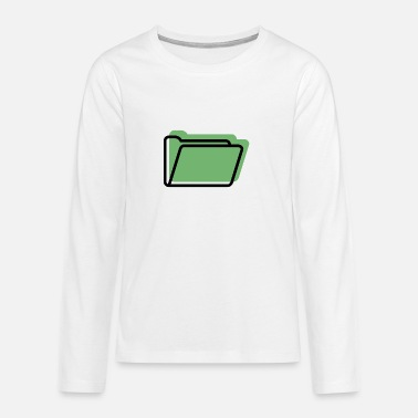 Folder Folder offset - Teenage Premium Longsleeve Shirt