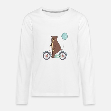 Party Party Baer - Teenager Premium Langarmshirt