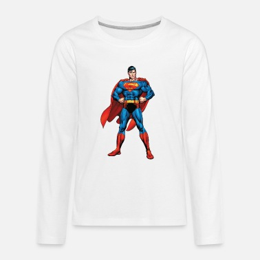 Superman Classic Pose Teenager Longsleeve - Teenager premium longsleeve