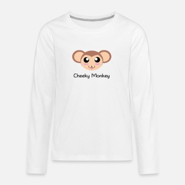 Cheeky Monkey - Teenage Premium Longsleeve Shirt