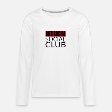 Antisocial Social Club - Teenage Premium Longsleeve Shirt
