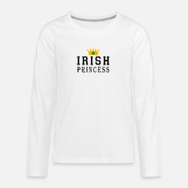 Irish Irish Princess - Teenage Premium Longsleeve Shirt