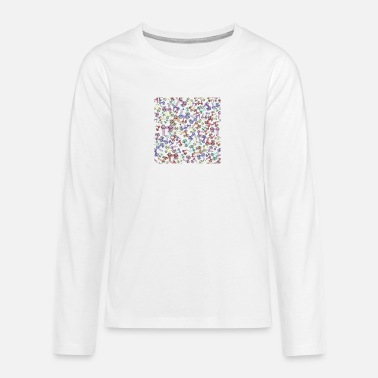 Cc Engine moped scooter watercolour colourful travel wheels - Teenage Premium Longsleeve Shirt