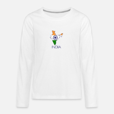 India india - Teenage Premium Longsleeve Shirt