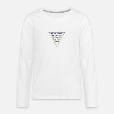 City Cities Big Citys - Teenage Premium Longsleeve Shirt