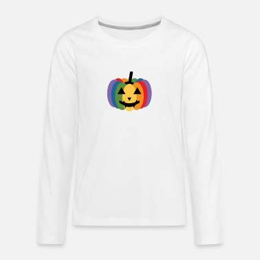 Rainbow Pumpkin - Teenager premium longsleeve