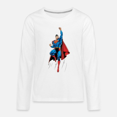 Superman Up and Away Teenager Longsleeve - Teenager premium longsleeve