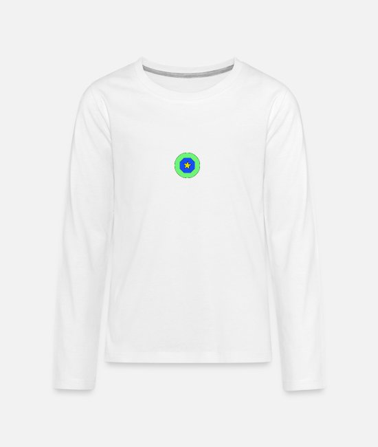 Celebrate Long-Sleeved Shirts - star - Teenage Premium Longsleeve Shirt white