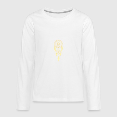 Golden dream catcher - Teenagers' Premium Longsleeve Shirt