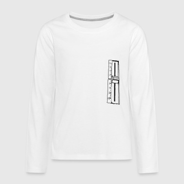 Pitch - Teenagers' Premium Longsleeve Shirt