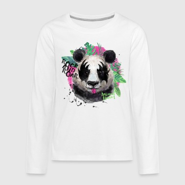 Animal Planet Giant Panda Rock And Roar - Teenagers' Premium Longsleeve Shirt