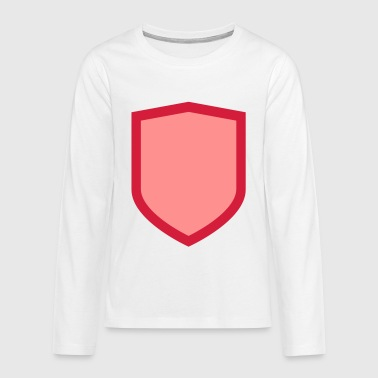 Shield - Teenager Premium shirt met lange mouwen