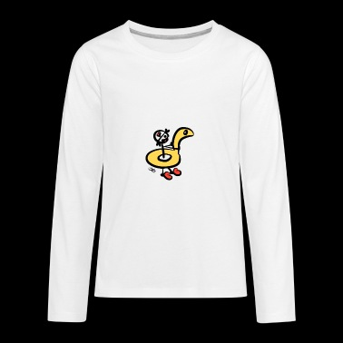 Kuoro at the bathroom - Teenagers' Premium Longsleeve Shirt