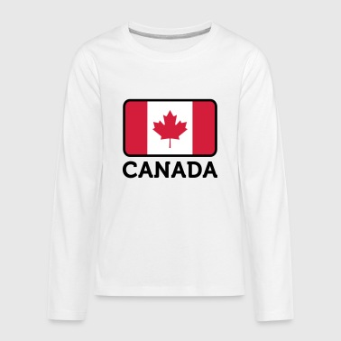 National Flag of Canada - Teenagers' Premium Longsleeve Shirt