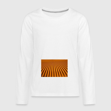 OR_STRIPE_1 - Teenager Premium Langarmshirt