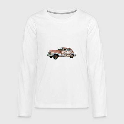 automobile - Teenagers' Premium Longsleeve Shirt