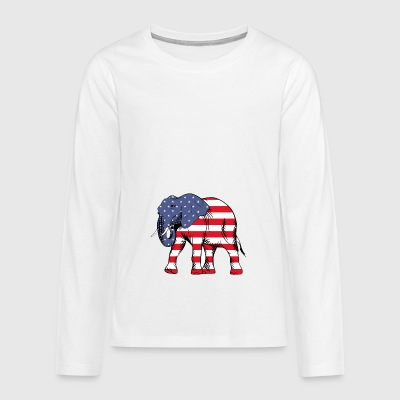 United Elefant - Teenager Premium Langarmshirt