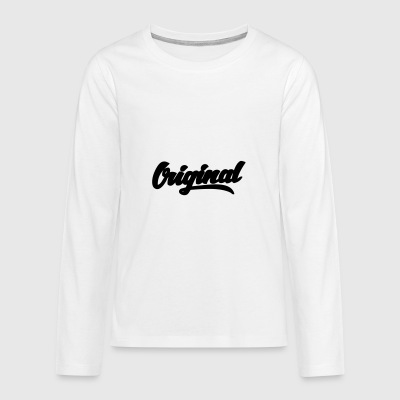Original - Teenager Premium Langarmshirt