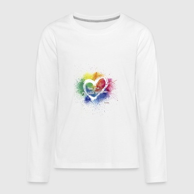Little Rainbow T-Shirt - Teenagers' Premium Longsleeve Shirt