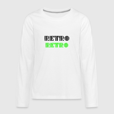 Retro Collections - Teenagers' Premium Longsleeve Shirt